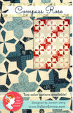 It's Sew Emma Quilt Pattern - COMPASS ROSE - shipping March 20th