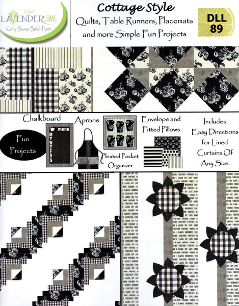 COTTAGE STYLE - Lavender Lime Pattern Book