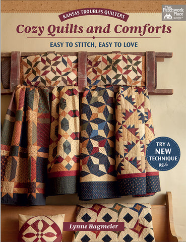 Martingale Pattern Book - COZY QUILTS AND COMFORTS