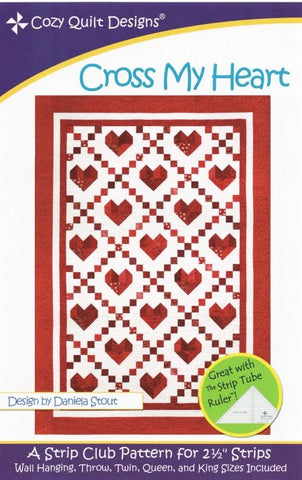 Cross My Heart - Cozy Quilt Designs Pattern