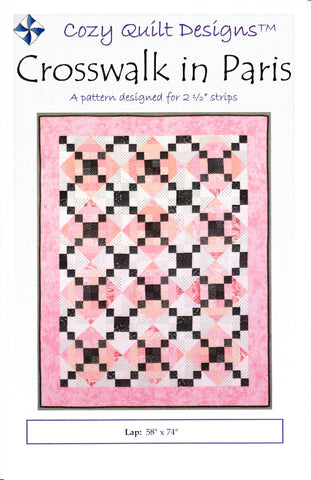 CROSSWALK IN PARIS - Cozy Quilt Design Pattern