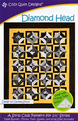 DIAMOND HEAD - Cozy Quilt Designs Pattern