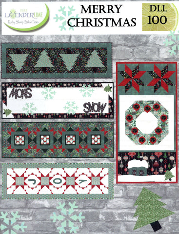 MERRY CHRISTMAS - Lavender Lime Pattern Book