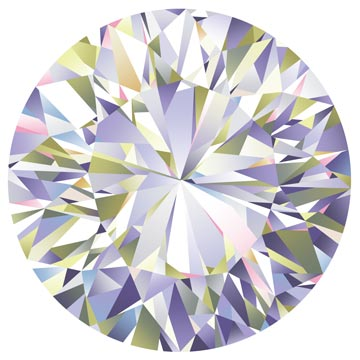"Northcott Facets 22668 10 Diamond Facets 43"" PANEL By The PANEL (not by the yard)"