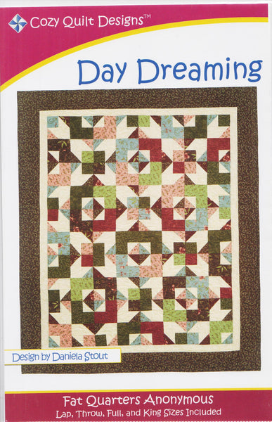 DAY DREAMING - Cozy Quilt Designs Pattern DIGITAL DOWNLOAD