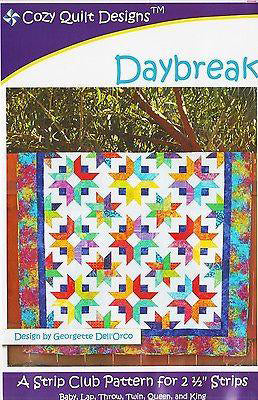 DAYBREAK - Cozy Quilt Designs Pattern