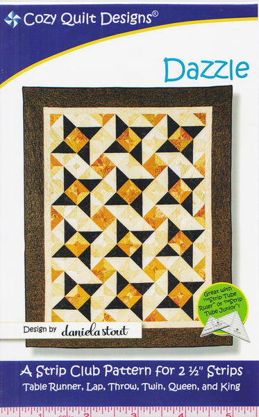 DAZZLE - Cozy Quilt Designs Pattern
