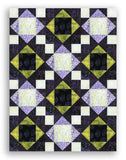 Hoffman Bali Batiks Pre-cut King's Crown Quilt Kit - Dazzle Dots