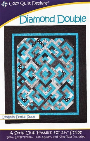 DIAMOND DOUBLE - Cozy Quilt Designs Pattern