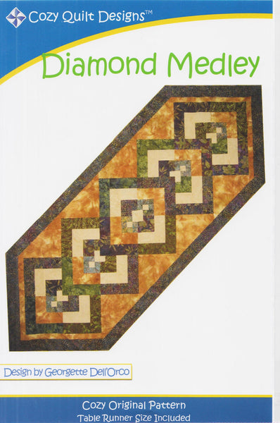 DIAMOND MEDLEY - Cozy Quilt Designs Pattern