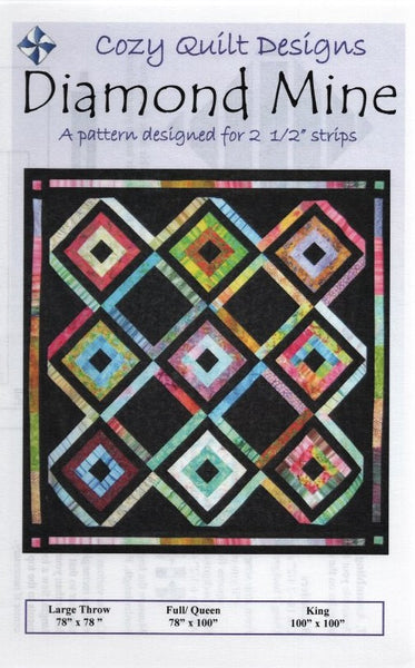 DIAMOND MINE - Cozy Quilt Designs Pattern
