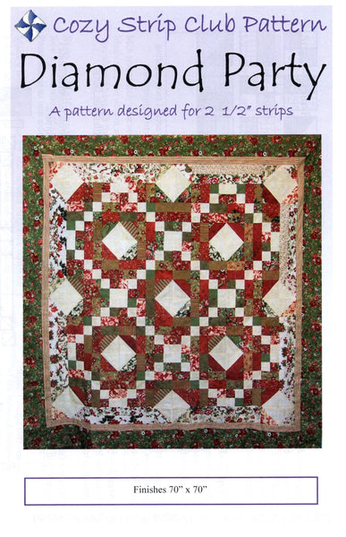 DIAMOND PARTY - Cozy Quilt Designs Pattern