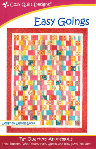EASY GOINGS - Cozy Quilt Design Pattern
