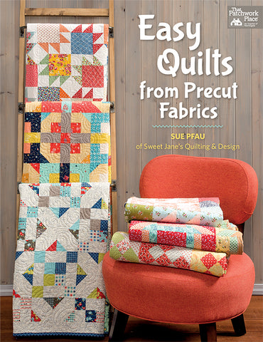 Martingale Pattern Book -  EASY QUILTS FROM PRECUT FABRICS