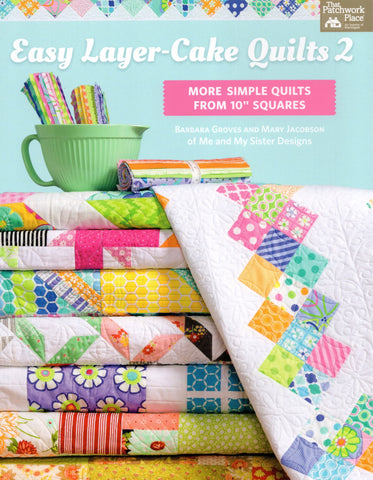 Martingale Pattern Book - Easy Layer-Cake Quilts 2