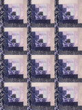 Jordan Fabrics Pre-Cut 12 Block Log Cabin Quilt Kit - Hoffman Batiks: Eclipse