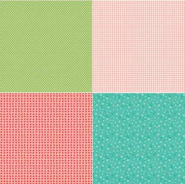Riley Blake Vintage Happy 2 C9146 One Fat Quarter 1 Yard PANEL By the PANEL (not strictly by the yard)