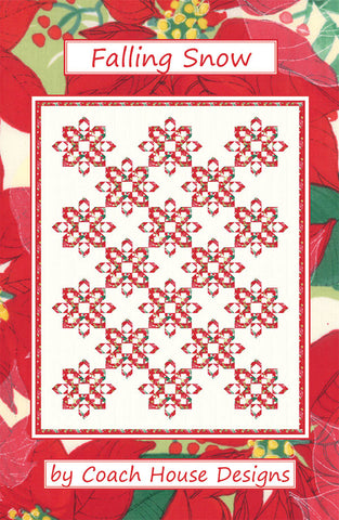 Coach House Designs Pattern - FALLING SNOW