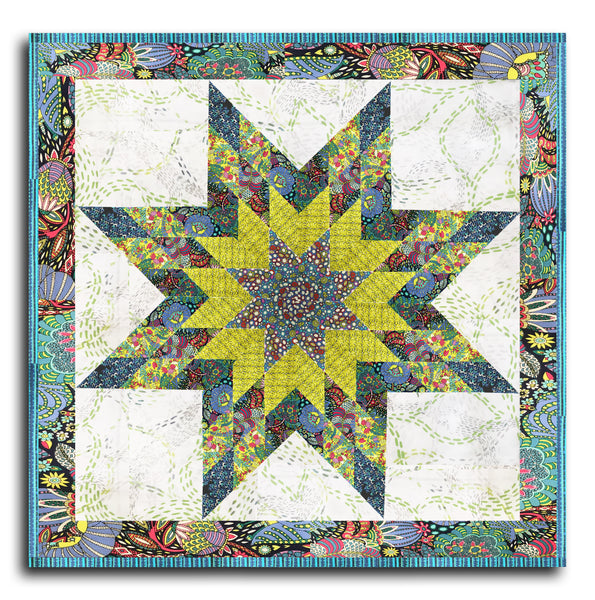 Windham Lone Star Pre-cut Wall Hanging Kit - Fantasy