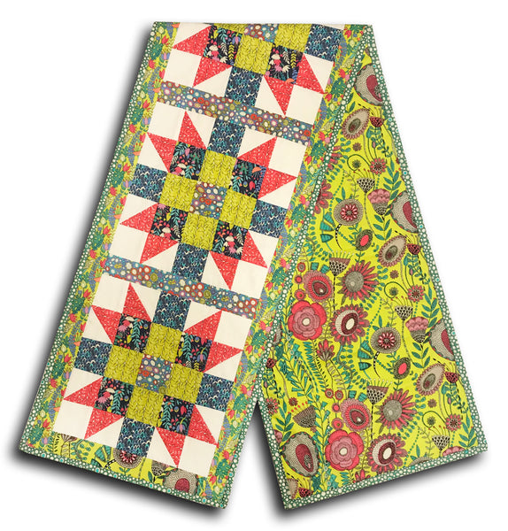 Windham Sister's Choice Pre-Cut Table Runner Kit - Fantasy