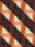 Moda Civil War JUMBO Pre-Cut 12 Block Log Cabin Quilt Kit - Thistle Farm