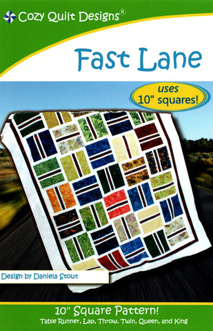 FAST LANE - Cozy Quilt Designs Pattern
