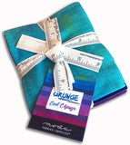 Moda Grunge Pre-Cut 10 Piece Fat Quarters - Cool Change