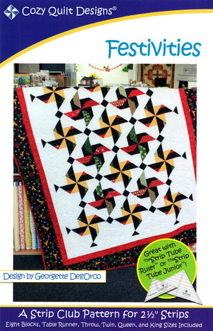 Festivities - Cozy Quilt Designs Pattern