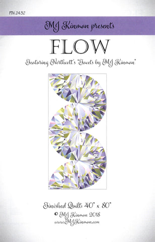 FLOW -MJ Kinman Quilt Pattern