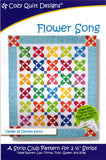 FLOWER SONG - Cozy Quilt Designs Pattern