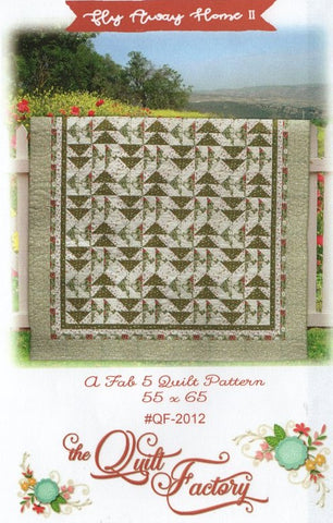 FLY AWAY HOME II - The Quilt Factory Pattern QF-2012 DIGITAL DOWNLOAD