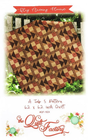 FLY AWAY HOME - The Quilt Factory Pattern QF-1824 DIGITAL DOWNLOAD