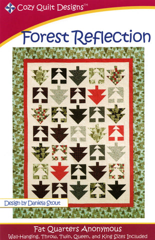 FOREST REFLECTION - Cozy Quilt Designs Pattern DIGITAL DOWNLOAD