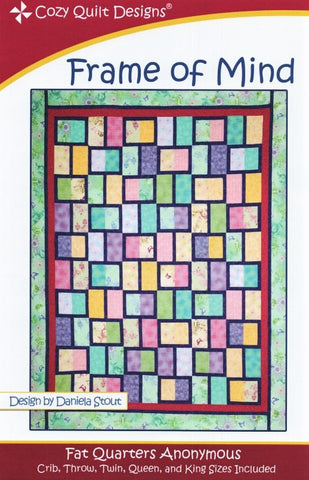 FRAME OF MIND - Cozy Quilt Designs Pattern