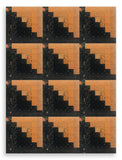 Moda Civil War Kansas Troubles Pre-Cut 12 Block Log Cabin Quilt Kit - Fresh Cut Flowers