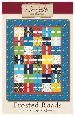 FROSTED ROADS - Antler Quilt Design Pattern