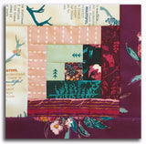 Art Gallery Fabrics Pre-Cut Log Cabin Table Runner Kit - Fusion Foresta