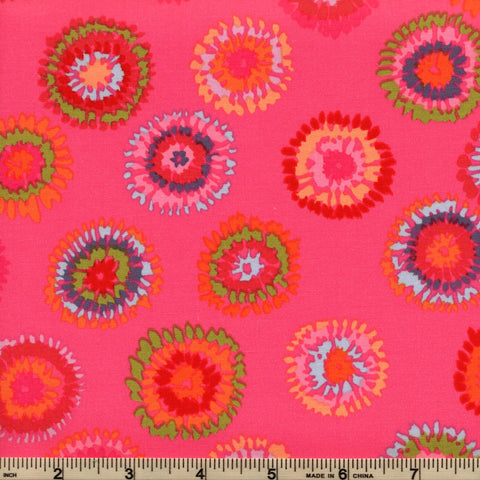 Free Spirit Kaffe Fassett GP109 Magenta Pink By The Yard