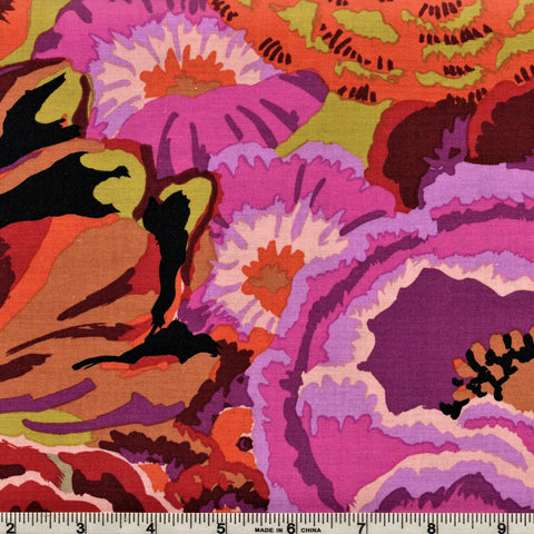 Free Spirit Kaffe Fassett GP69 Plum Bekah By The Yard