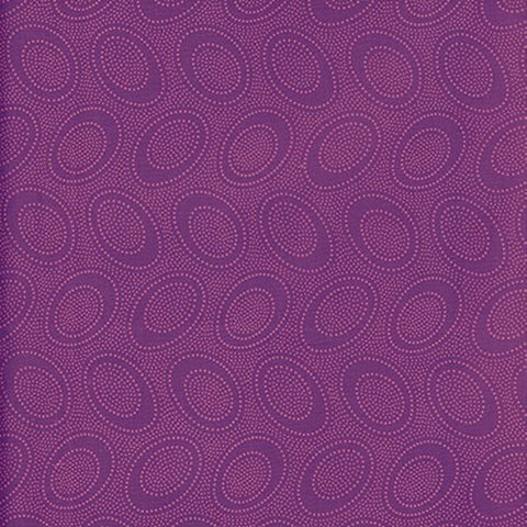 Free Spirit Kaffe Fassett GP71 PlumX Aboriginal Dot By The Yard