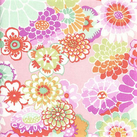 Free Spirit Kaffe Fassett Collective GP89 Pink Asian Circles By The Yard