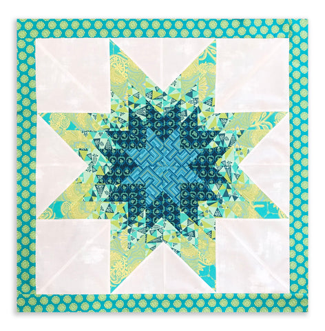 Free Spirit Amy Butler Lone Star Jelly Roll Quilt Kit - Glow