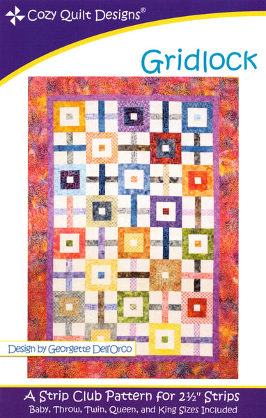 GRIDLOCK - Cozy Quilt Designs Pattern