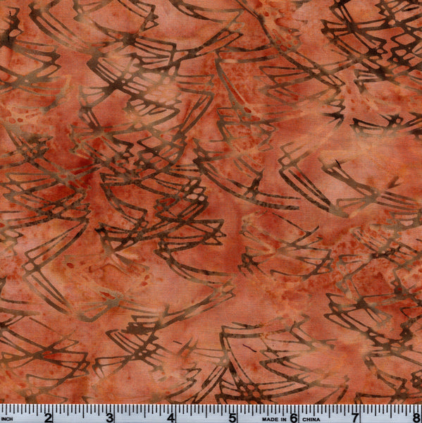 Hoffman Bali Batik HIJ 7003 Scratches On Copper By The Yard
