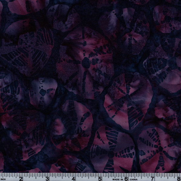 Hoffman Bali Batik HOF 7015 Purple Sand Dollars By The Yard
