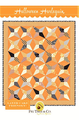 HALLOWEEN HARLEQUIN - Fig Tree & Co. Pattern