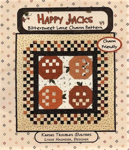 HAPPY JACKS - Kansas Troubles Quilters' Pattern KT 55040