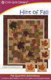 HINT OF FALL - Cozy Quilt Designs Pattern
