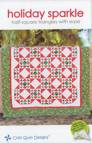 Cozy Quilt Design Strip Pattern - HOLIDAY SPARKLE