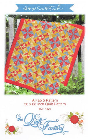 HOPSCOTCH - The Quilt Factory Pattern QF-1825 DIGITAL DOWNLOAD